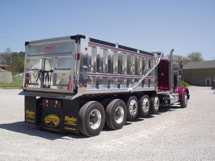 Conventional truck body