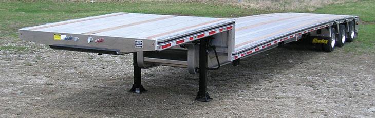 aluminum drop deck trailer