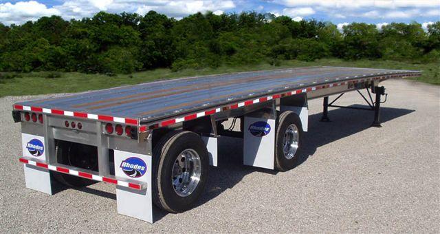Aluminum platform trailer
